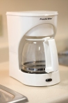 brand new coffee maker from value place extended stay hotels